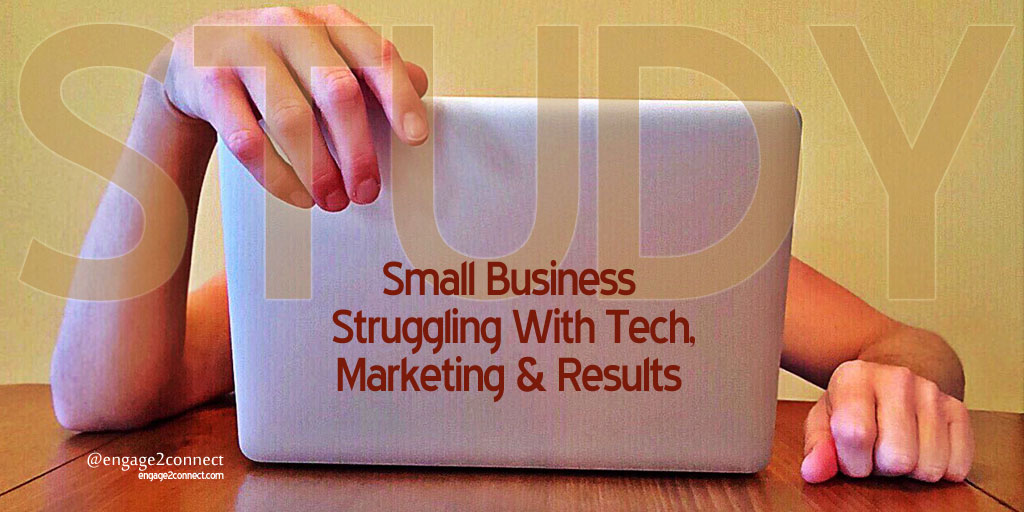 Study – Small Business Struggling With Tech, Marketing & Results