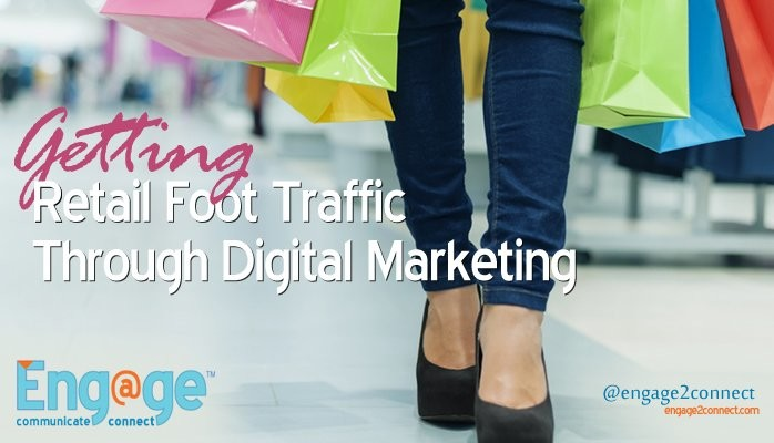 Retail foot traffic through small business marketing