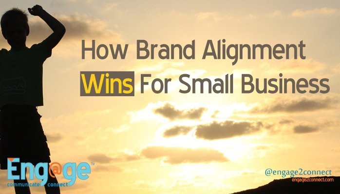 Small business brand alignment