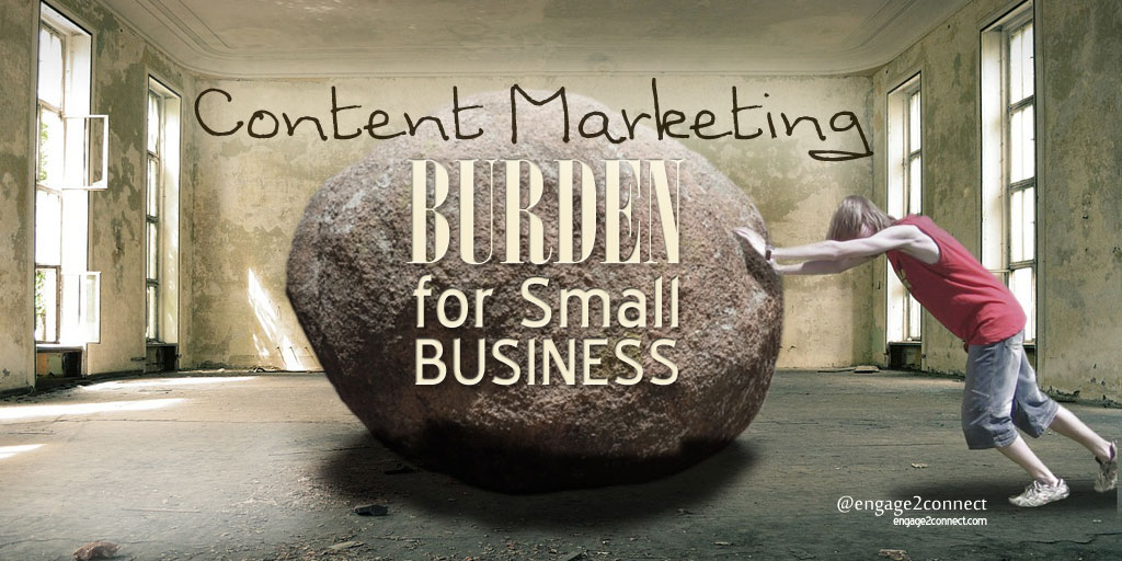 Content Marketing Burden For Small Business