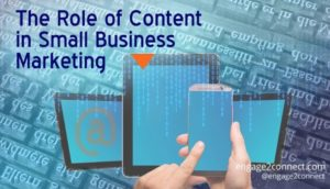 the role of content - small business marketing