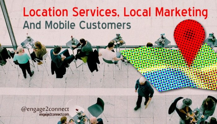 Location based local marketing for mobile