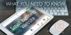 The most important facts about a small business website