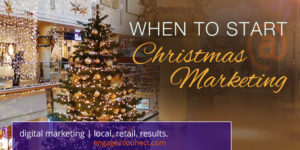 When should a small business begin Christmas and holiday marketing?