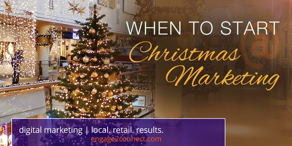 When To Start Christmas Marketing