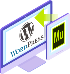Easily convert Muse site to WordPress
