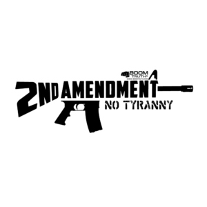 AR15 Second Amendment Design T-shirt Boom Truth