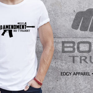 AR15 Second Amendment T-shirt Boom Truth
