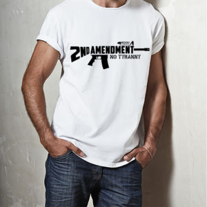 Mens AR15 Second Amendment T-shirt Boom Truth