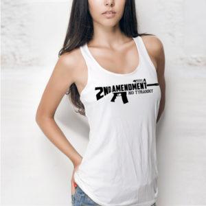 Second Amendment AR15 Women's Tank - Boom Truth