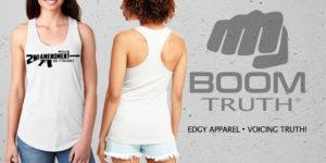 Women's AR15 Second Amendment Tank Top - Boom Truth