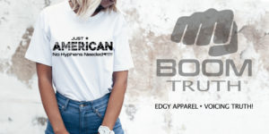 Just American No Hyphen Needed - Boom Truth Apparel
