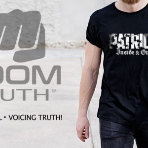 Patriot Inside & Out T-shirt - Boom Truth