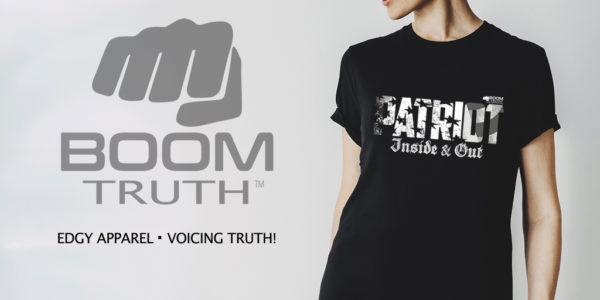 Patriot Inside and Out Women's T-shirt - Boom Truth